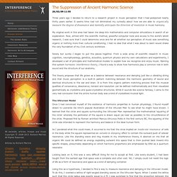 The Suppression of Ancient Harmonic Science