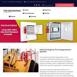 Vehicle Engine Fire Suppression System Manufacturer