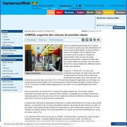 CAMRAIL supprime des voitures de première classe