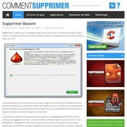 Supprimer Boxore - Comment Supprimer ?