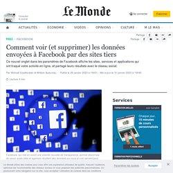 Comment voir (et supprimer) les données envoyées à Facebook par des sites tiers