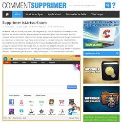 Supprimer istartsurf.com - Comment Supprimer ?