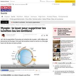 Myopie : le laser pour supprimer les lunettes (ou les lentilles)