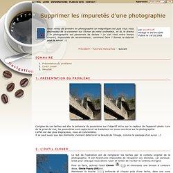 gimp4you : tutoriel Supprimer les impuretés d'une photographie