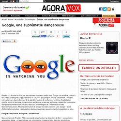 Google, une suprématie dangereuse