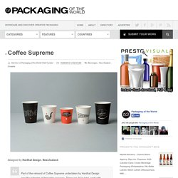 Coffee Supreme on Packaging of the World