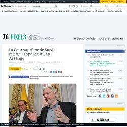 La Cour suprême de Suède rejette l'appel de Julian Assange