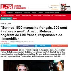 """""""Sur nos 1500 magasins français, 900 sont à..."""