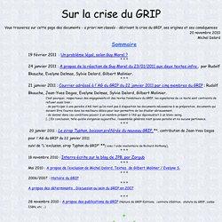 Sur La crise du GRIP