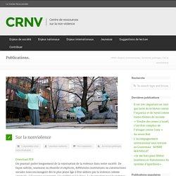 Sur la nonviolence - CRNV
