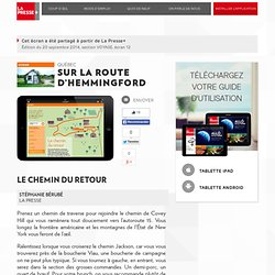 Sur la route d'Hemmingford
