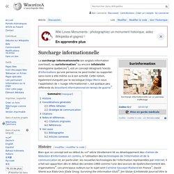 Infobésité / Surcharge informationnelle