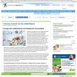Une surconsommation d'antibiotiques