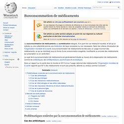 Surconsommation de médicaments