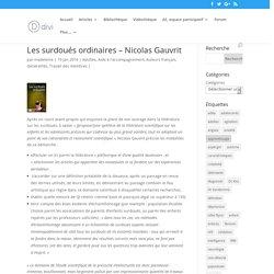 Les surdoués ordinaires – Nicolas Gauvrit