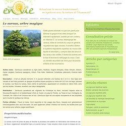 Le sureau, arbre magique « Projet En Vie