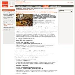 Construire et transformer avec le bois - surélévation et extension : étude de cas - Forum Point.P : Espace d'information, de documentations et d'exposition-vente du Groupe Point.P