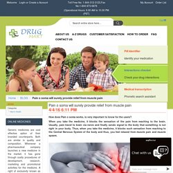Pain o soma will surely provide relief from muscle pain