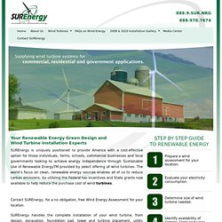 SUREnergy | Your source for Sustainable Use of Renewable Energy