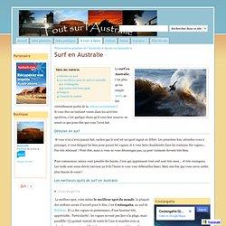 Surf en Australie - Tout sur l'Australie