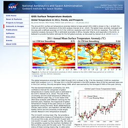 Data.GISS: GISS Surface Temperature Analysis: 2011 Annual Analysis