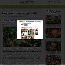 BIO A LA UNE 18/02/15 Les surfaces OGM toujours en hausse en 2014