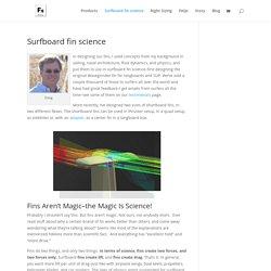 Surfboard Fin Science - FSI