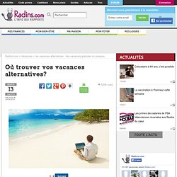 Ces sites qui surfent sur les vacances alternatives