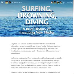 Surfing, Drowning, Diving — The Message