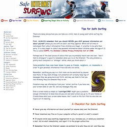 Be Safe while Surfing Online - Learn How to Protect Yourself