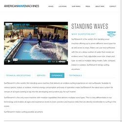 Surf Machine, Standing Waves, River Waves, Barrel Waves