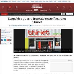 Surgelés: guerre frontale entre Picard et Thiriet