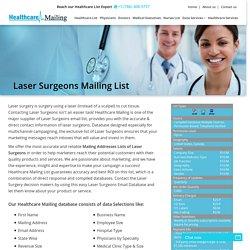 Laser Surgeons Email Addresses Database