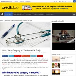 Heart Valve Surgery – Effects on the Body