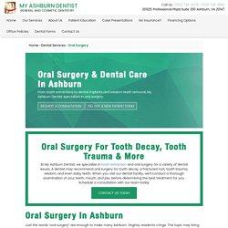 Oral Surgery Service Ashburn VA