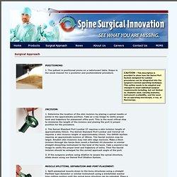 Nuvasive xlif surgical technique