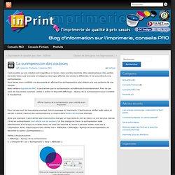 Imprimez pas cher avec InPrint : Les infos de surimpression en imprimerie