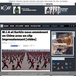 M.I.A et Surkin nous emmènent en Chine avec un clip impressionnant [vidéo]