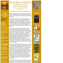 West African Folk-Tales by William H. Barker and Cecilia Sinclair