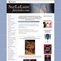 SurLaLune Fairy Tales: Annotated Fairy Tales, Fairy Tale Books and Illustrations