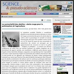 La surmortalité des abeilles : alerte rouge pour la pollinisation et l'agriculture