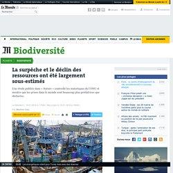 LE MONDE BIODIVERSITE 19/01/16 La surpêche et le déclin des ressources ont été largement sous-estimés
