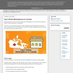 Top 5 Online Marketplaces In Canada