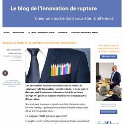 Surplus créatif, le secret des entreprises innovantes