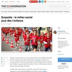 Surpoids: lemilieu social joue dèsl'enfance
