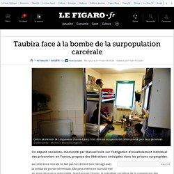 Taubira face à la bombe de la surpopulation carcérale