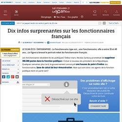 Dix infos surprenantes sur les fonctionnaires français