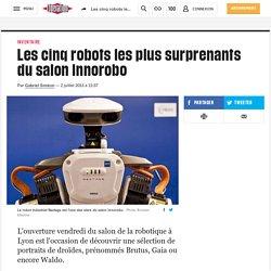 Les cinq robots les plus surprenants du salon Innorobo