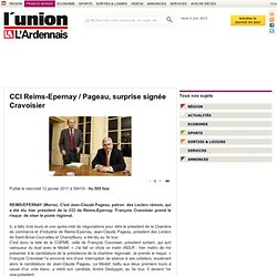 CCI Reims-Epernay / Pageau, surprise signée Cravoisier