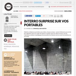Interro surprise sur vos portables